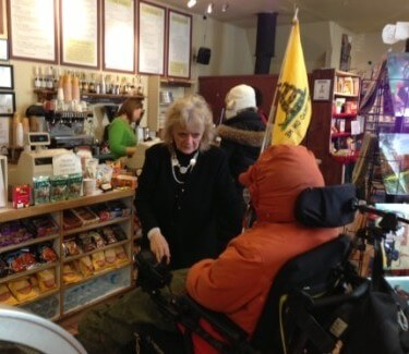 Betsy Howland: Books, Food and Community