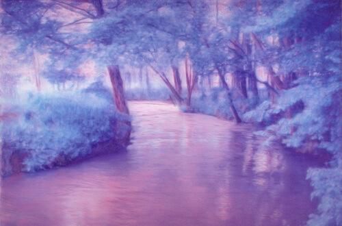 Epte near Giverny-Lavendar Mist_Christopher Kufner