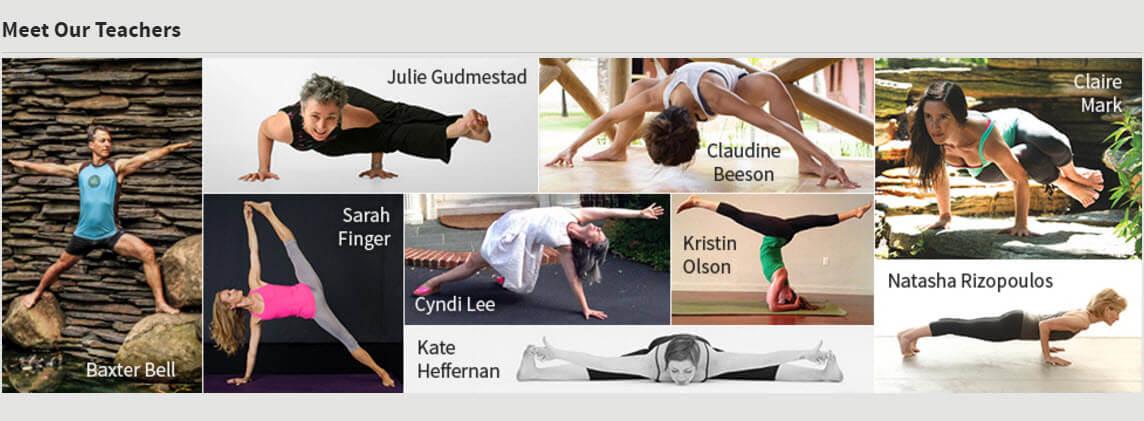Yoga University Online Teachers