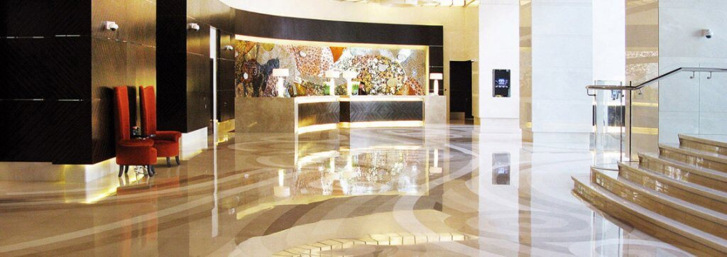 Award winning Creative Edge marble, Renaissance Shanghai Hotel